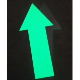 Săgeţi fotoluminescente din aluminiu 30 cm