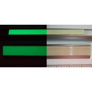 Bandă antiderapantă fotoluminescentă din cauciuc