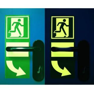 Panou pentru semnalizarea fotoluminescentă a sistemelor de deschidere a ușilor