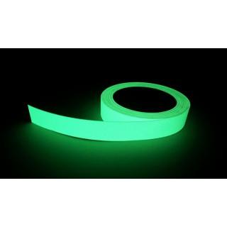 Bandă adezivă fosforescentă de mare intensitate pentru ghidare luminoasă